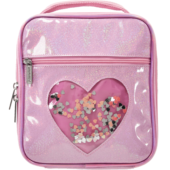 Heart Confetti Lunch Tote