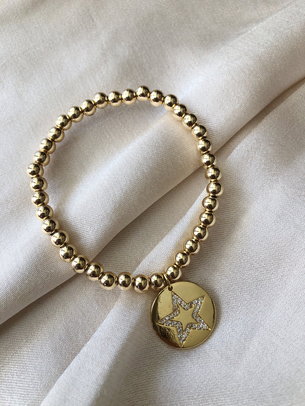 Star Medallion Bracelet