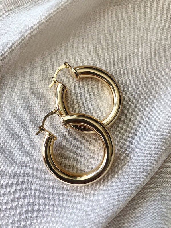 Maldives Hoop Earrings