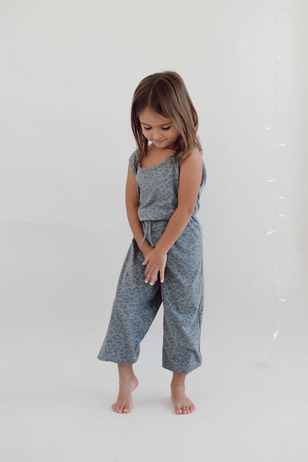Charcoal relaxed jumpsuit