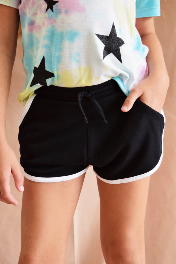 Black Sporty Shorts