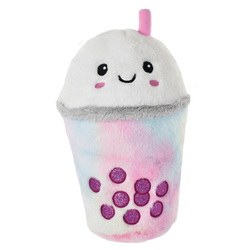 Bubble Tea Furry Pillow