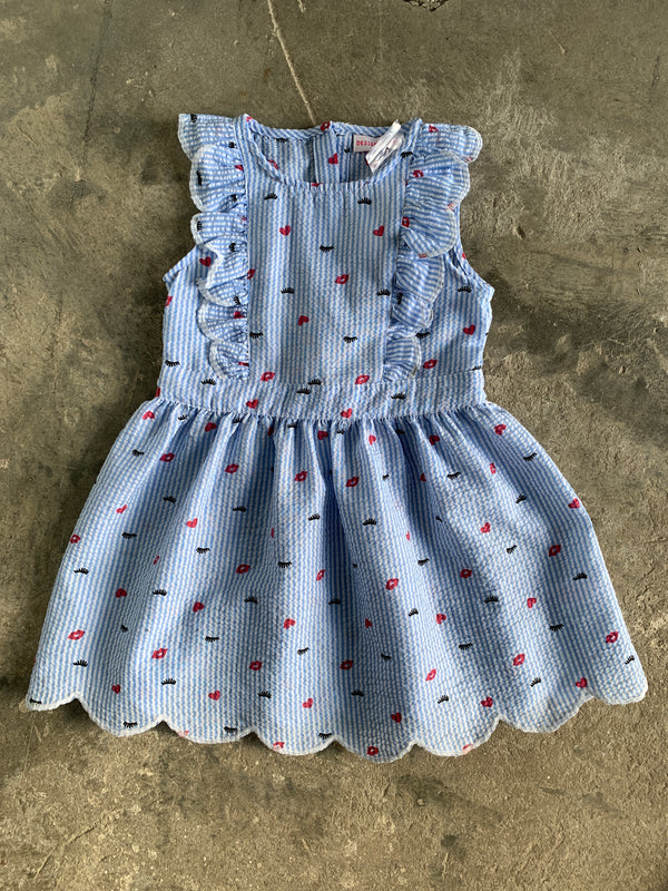 Baby Blue Kiss Dress