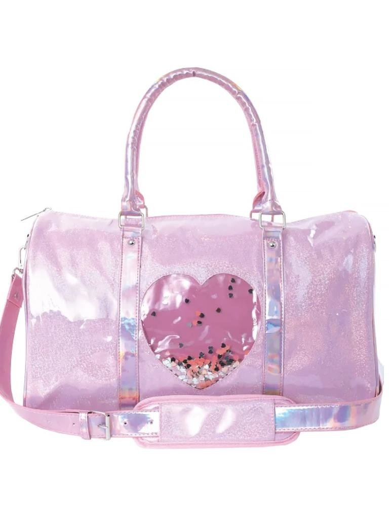 Heart Confetti Duffel Bag
