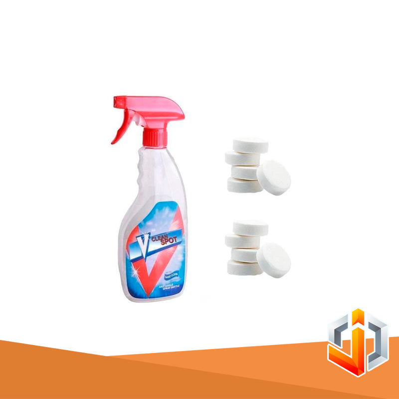 Multifunctional Effervescent Spray Cleaner Set (10pcs tablets)