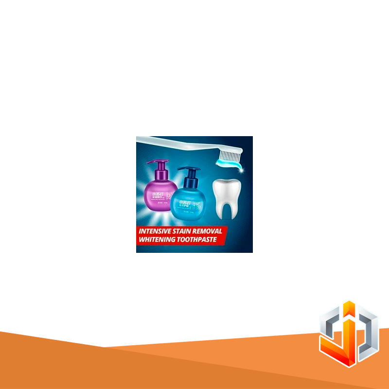 Intensive Stain Removal Whitening Toothpaste.