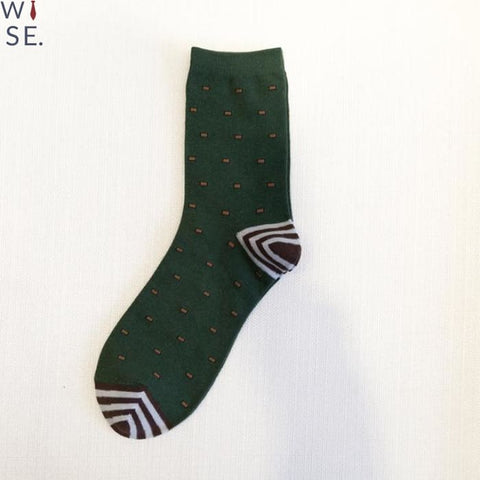 Polka Dotters (5 Pcs) - Army Green