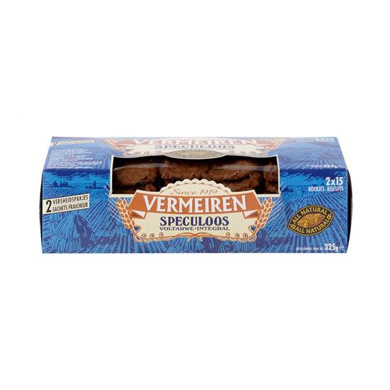 Vermeiren whole-wheat speculoos 2x162,5 gr