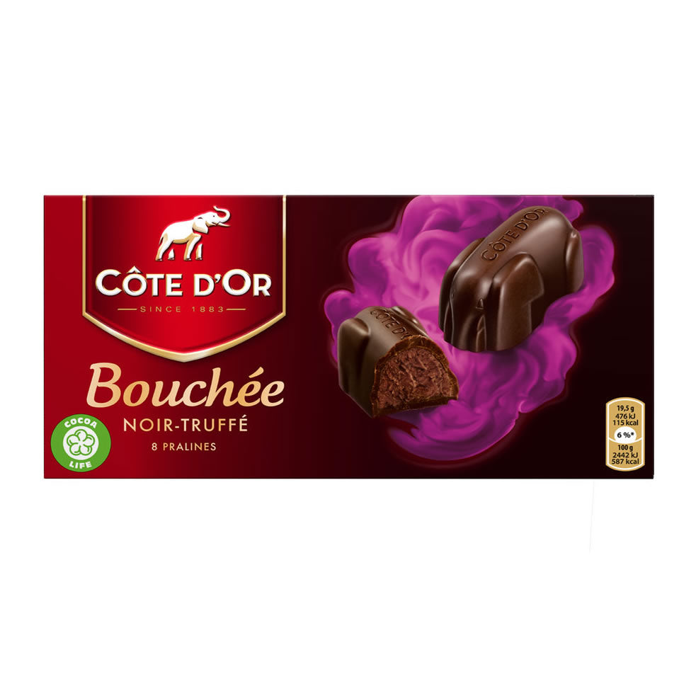 Côte d'Or Bouchée Dark With Truffle 156 Gr
