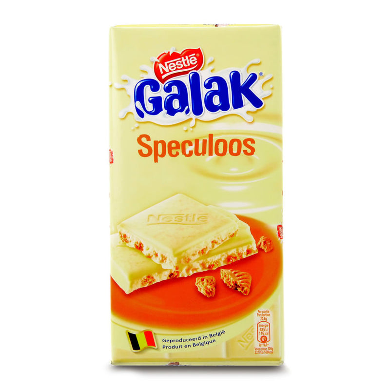 Galak White With Speculoos 125 Gr