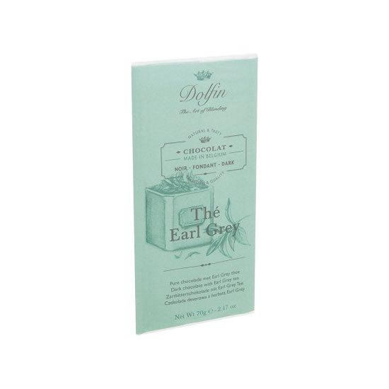 Dolfin Dark With Earl Grey Tea 70 Gr