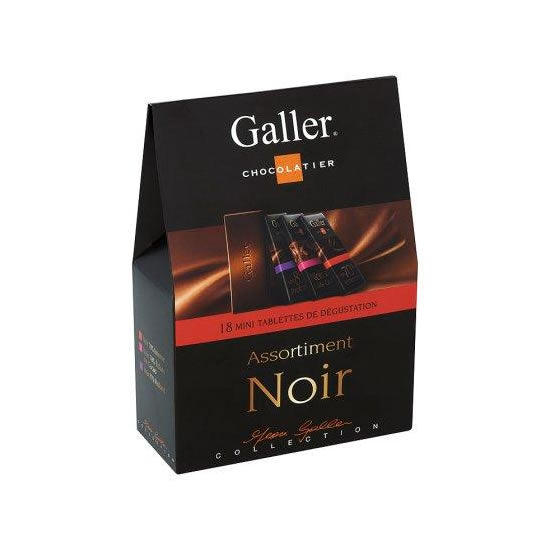Galler Mini Tablets - Assortment Dark 18 x 8 gr