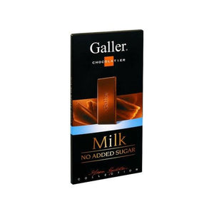 Galler Milk No Added Sugar 80 Gr