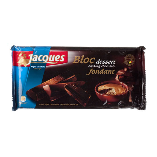 Jacques Block Dessert Dark 500 Gr