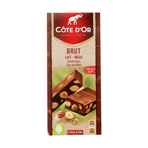 Côte d'Or Brut Milk With Hazelnut 180 Gr