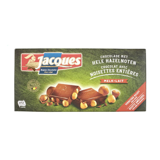 Jacques Milk With Hazelnut 200 Gr
