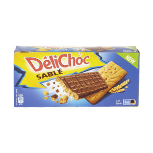 Delacre DéliChoc Milk Chocolate Shortbread 6x25 gr