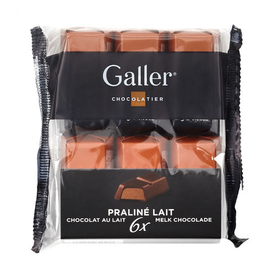 Galler Milk With Praline 6x28 Gr