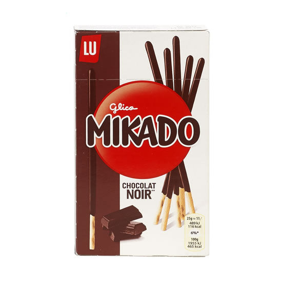 Lu Mikado With Dark Chocolate 75 gr