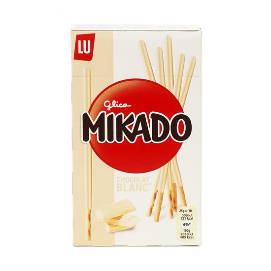 Lu Mikado With White Chocolate 70 gr