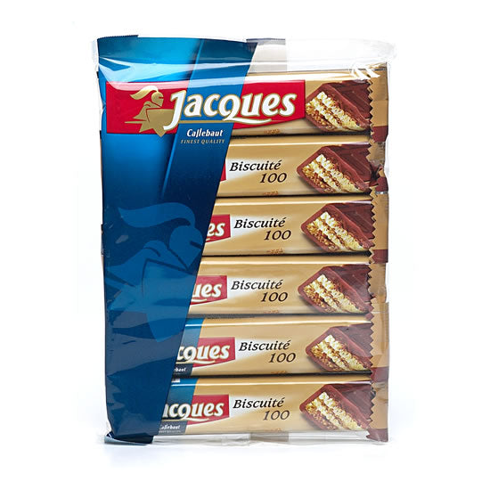 Jacques Milk With Biscuit 6x38 Gr