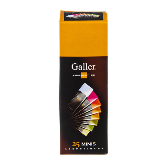 Galler 25 Mini Bars Assortment 300 gr