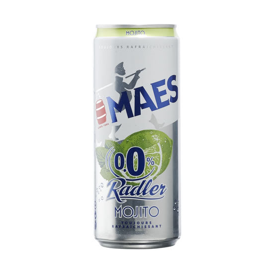 Maes Radler Mojito 0% 330ml Can
