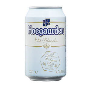 Hoegaarden White Beer 4,9% 330ml Can
