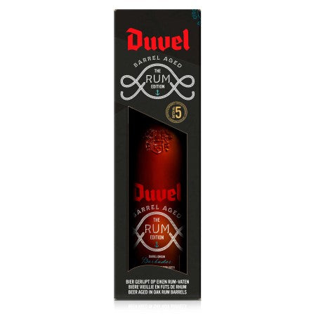 Duvel Barrel Aged The Rum Edition 750ml 12% + 1 glass, Limited Edition (2020)