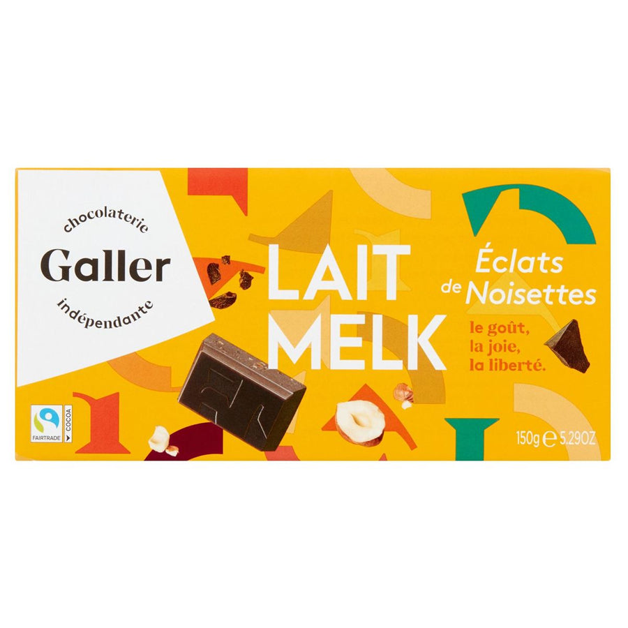 Galler Milk with Hazelnuts 150 gr