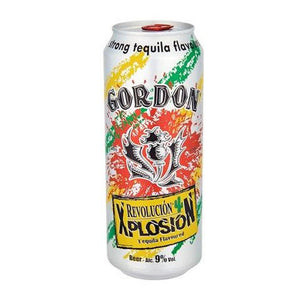 Gordon Revolucion Xplosion Tequila 9% 500ml Can