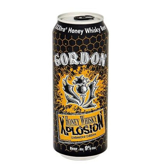 Gordon Xplosion Honey, Whisky 9% 500ml Can