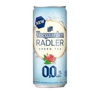 Hoegaarden Radler Green Tea 0% 330ml Can