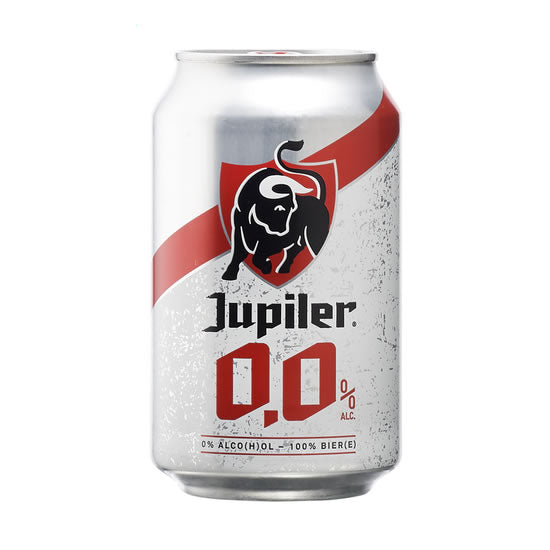 Jupiler 0% 330ml Can