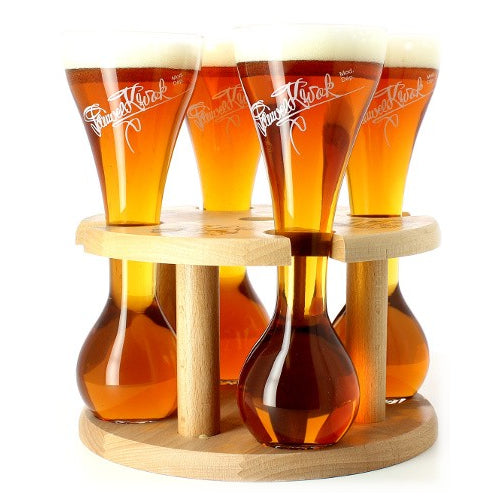 Kwak Beer Glass Quattro 4 x 33cl with stand