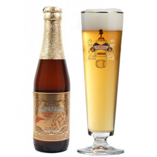 Buy Lindemans Pêcheresse 2,5% 250ml Online - BelgianMart.com