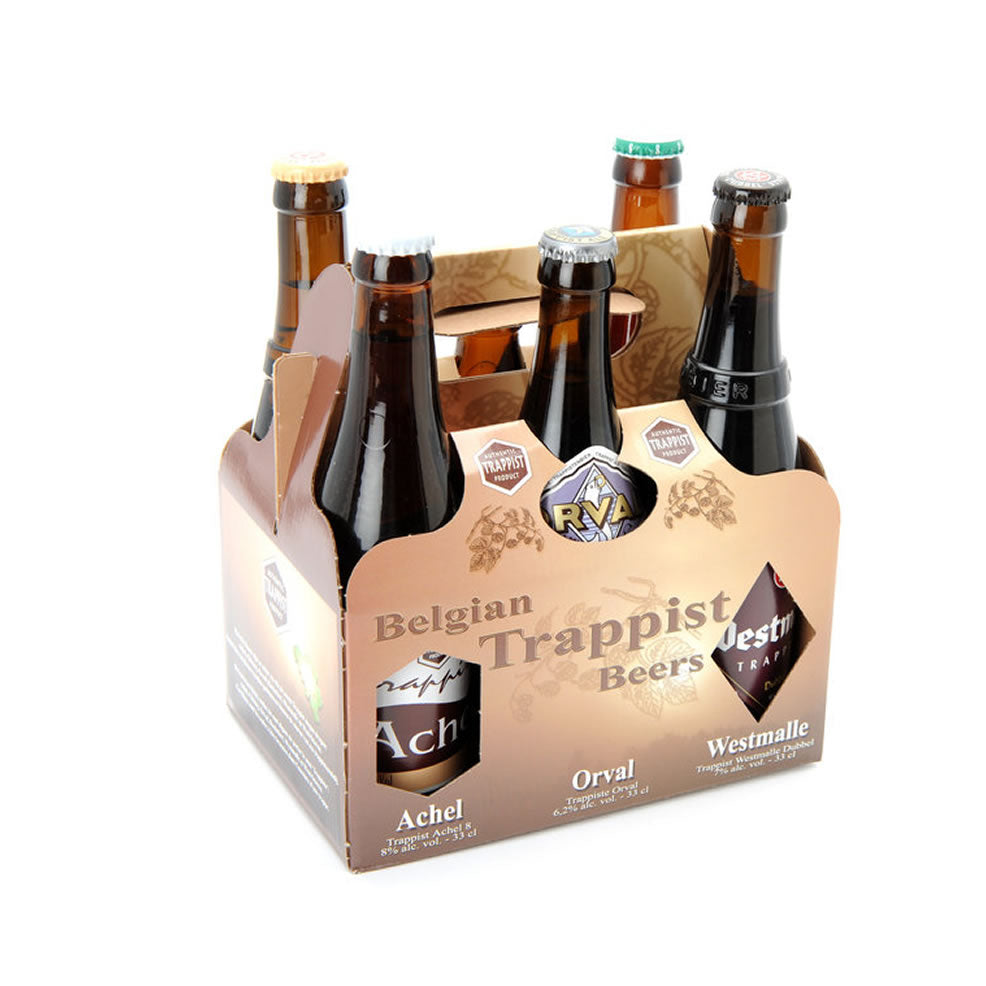 Belgian Trappist Beers Gift Box 6x330ml