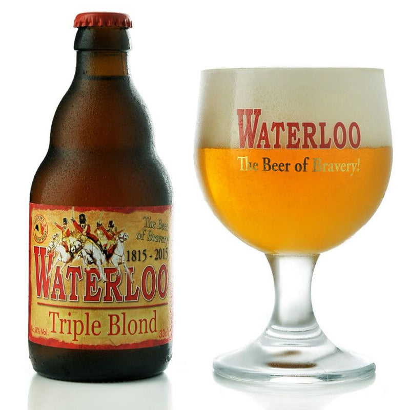 Waterloo Triple Blond 8% 330ml