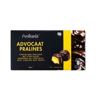 Ambiente Advocaat Chocolate Pralines 200 gr