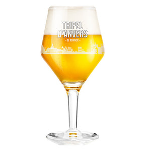 Triple d'Anvers Beer Glass 33cl