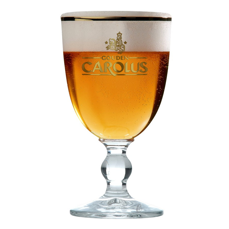 Gouden Carolus Beer Glass 33cl