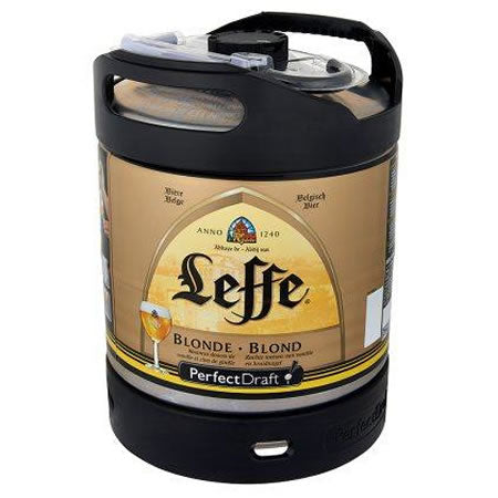 Leffe Blonde 6,6% 6L Keg For Perfect Draft