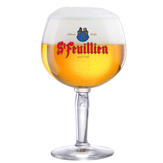 St Feuillien Beer Glass 33cl