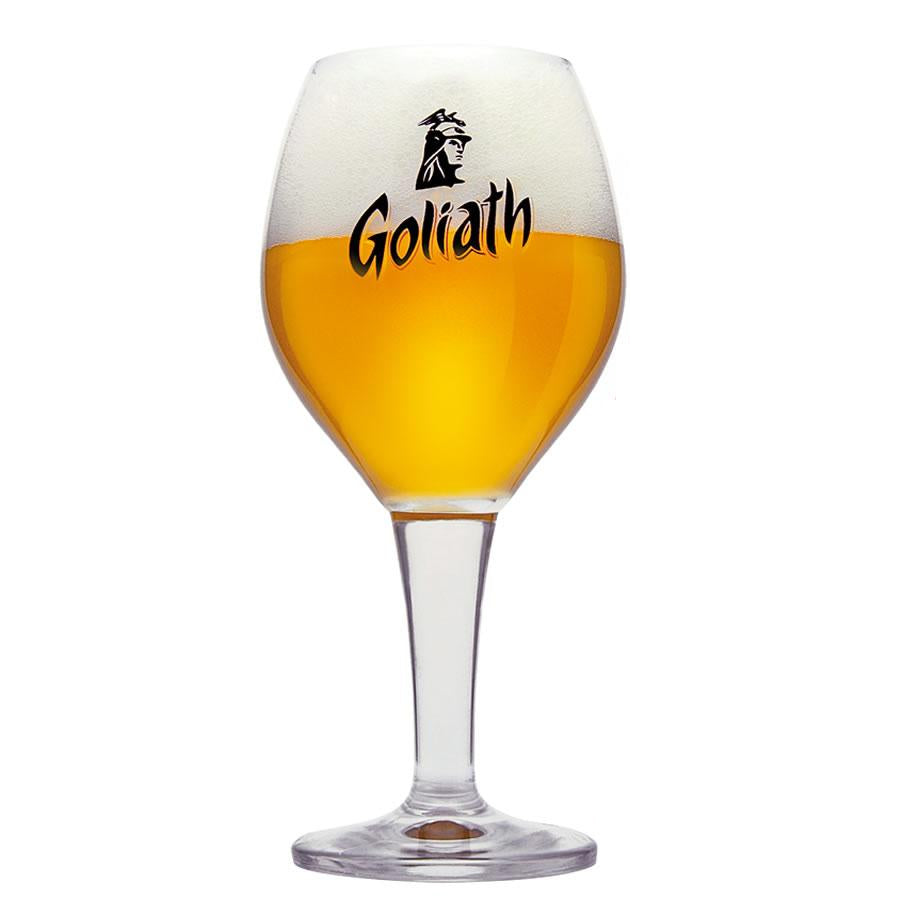 Goliath Beer Glass 33cl