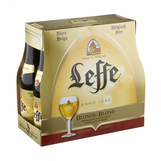 Leffe Blonde 6,6% 8x330ml Pack