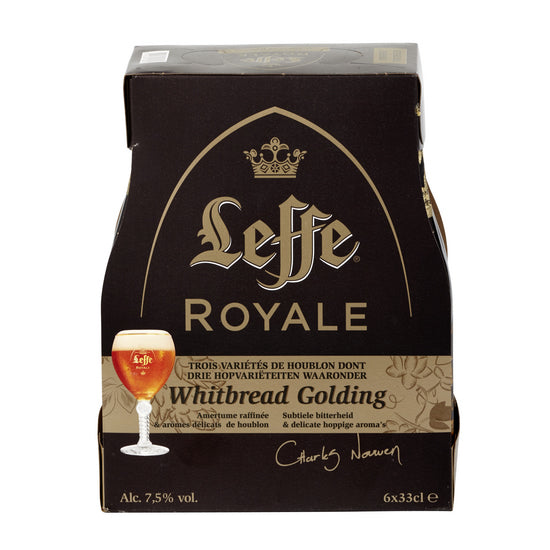 Leffe Royale Whitbread Golding 7,5%  6x330ml Pack