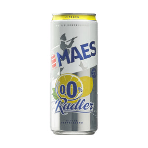 Maes Radler Lemon 0% 330ml Can