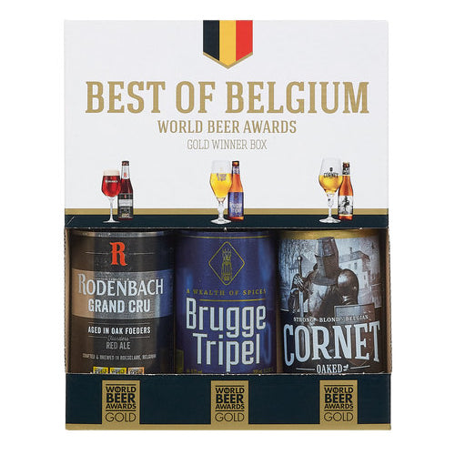 Best Of Belgium Gift Box  3x330ml