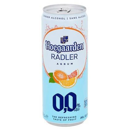 Hoegaarden Radler Agrum 0% 330ml Can