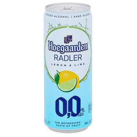 Hoegaarden Radler Lemon & Lime 0% 330ml Can